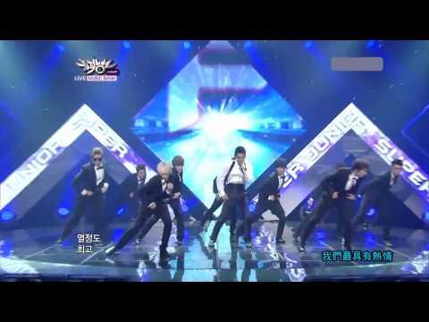 [中字 LIVE] 110805 Super Junior 슈퍼주니어 COMEBACK -SUPERMAN
