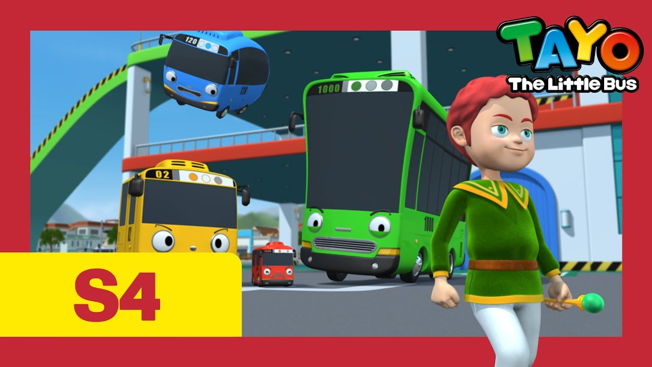Tayo S4 Ep15 L Asura The Little Wizard L Tayo The Little Bus L