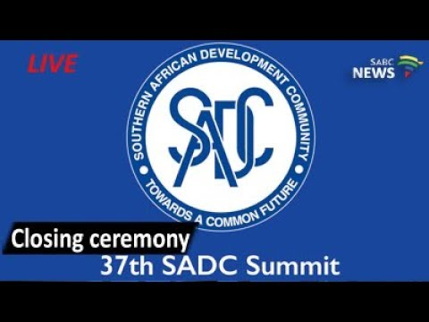 37th SADC Summit closing ceremony, 20 August 2017