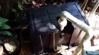 DIY Pool Pump Motor Cover for $10