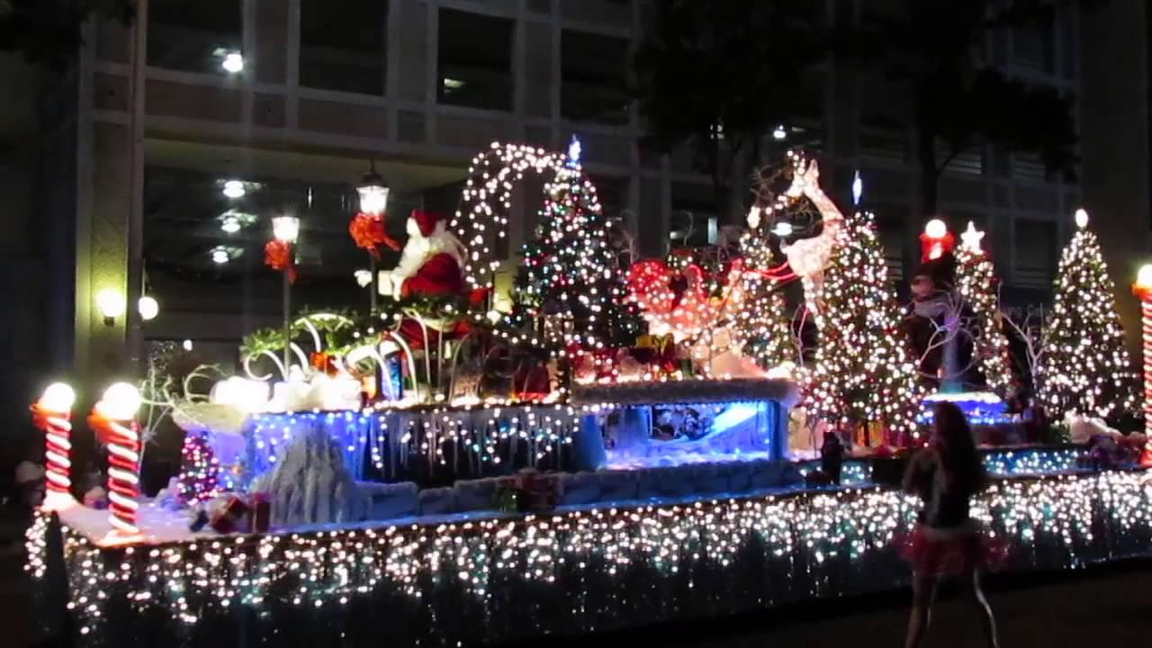 Honolulu City Lights Christmas Parade 2017 | Christmaswalls.co