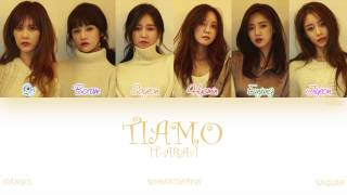 [HAN|ROM|ENG] T-ara (티아라) - TIAMO (Color Coded Lyrics)