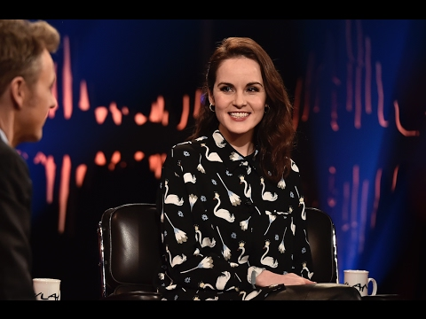 Michelle Dockery Interview  | Skavlan |