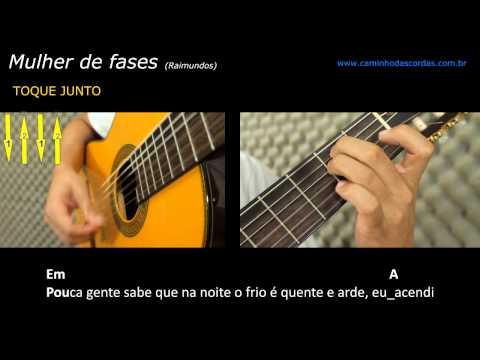 Mulher de Fases - aprenda a tocar no violão