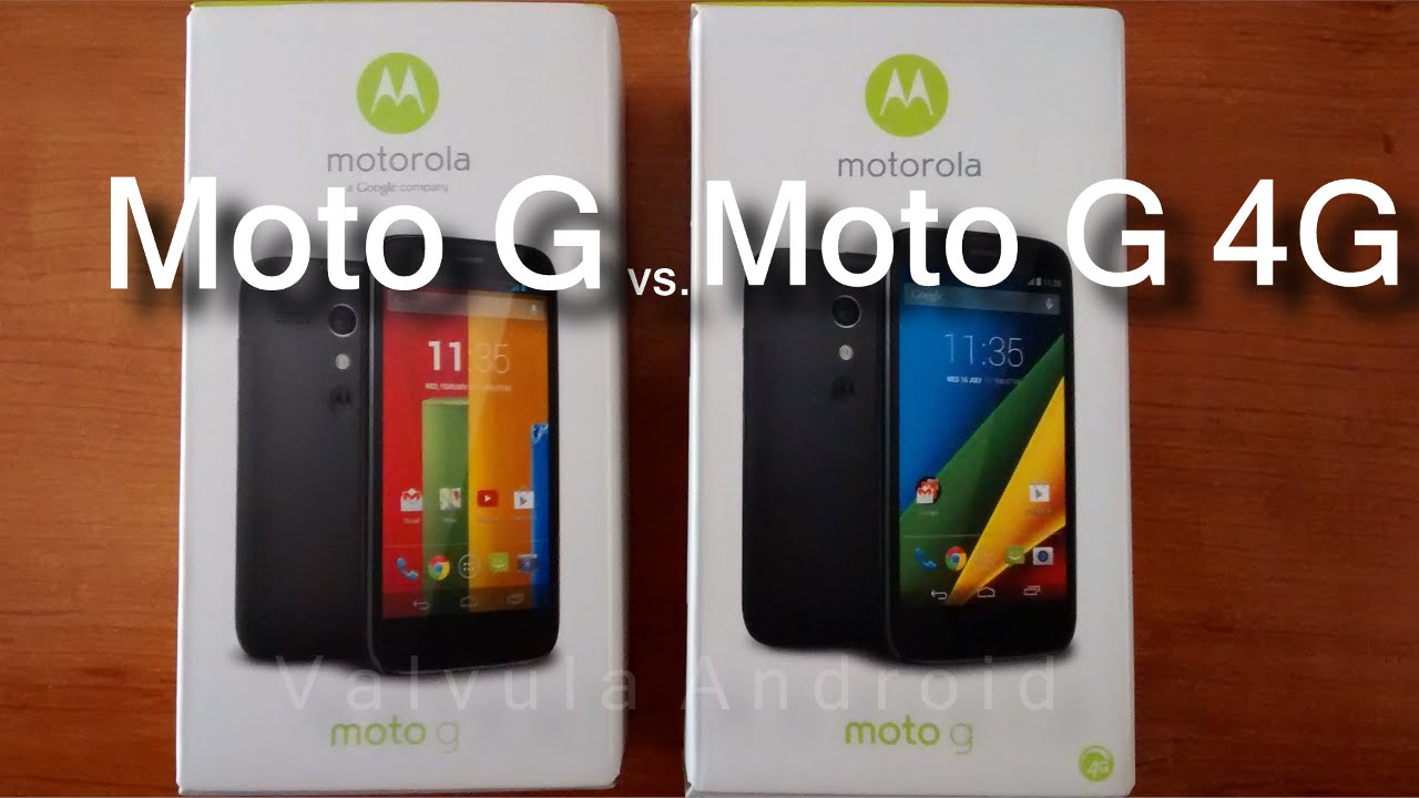 motorola moto g vs moto g 4g lte youtube. Black Bedroom Furniture Sets. Home Design Ideas