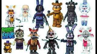 FNAF Five Night's at freddys Mcfarlane Toys Wave 4 Series 4 Reveal Complete Figures Lineup