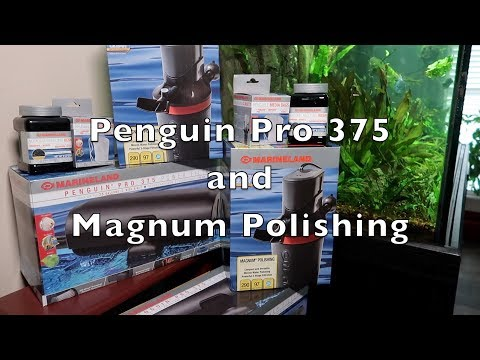 Marineland Pro 375 And Magnaflow Filters