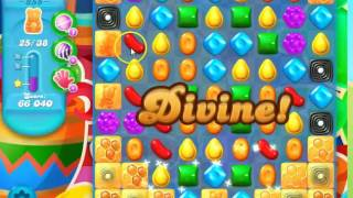 Candy Crush Soda Saga Level 855 no boosters