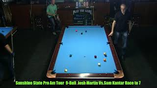 Sam Kantar Vs Josh Martin 2018 Sunshine State Tour Stop 8 Stroker's Billiards thumbnail