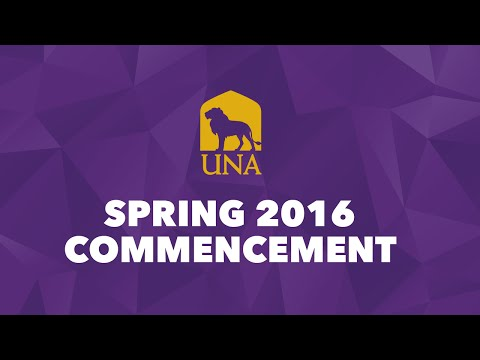 Spring 2016 Commencement - Ceremony 1