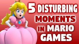5 Disturbing Moments in Mario Games