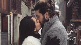 FÃS ESTREMECIDAS COM DECISAO:  Luan Santana apresenta sua namorada e foto com beijo arrepia o país