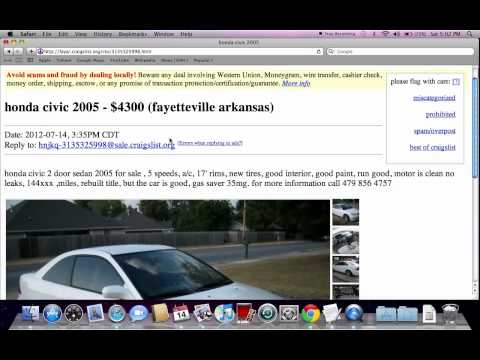 Craigslist Fayetteville Arkansas - Used Cars, Trucks and Vans Under $1500  Available Now