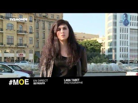 """#MOE - """"Beyrouth, une ville que je respire, que j'ai dans la peau"""" (Lara Tabet)"""