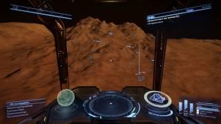 Elite Dangerous - обучение #3: шахтерство, управление планетоходом