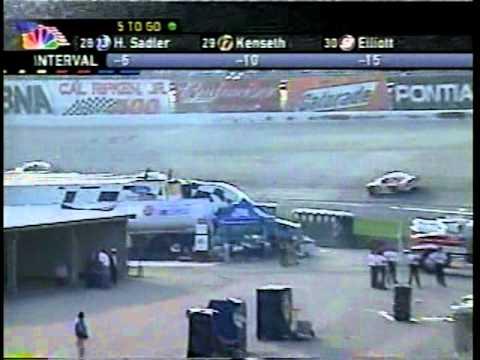 2001 MBNA Cal Ripken Jr. 400 [20/22] (Finish)