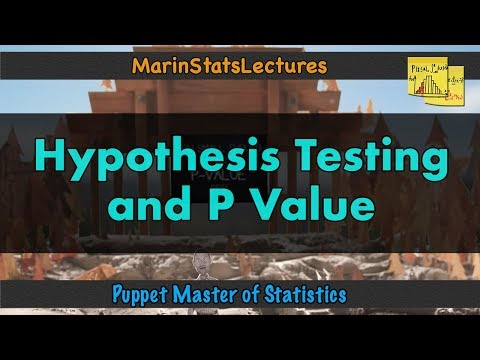 What is a Hypothesis Test and a P-Value?