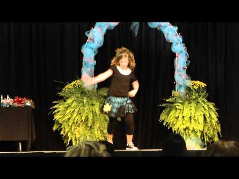 HARLI LITTRELL DANCING..2010 FANNIN COUNTY DUCHESS WINNER