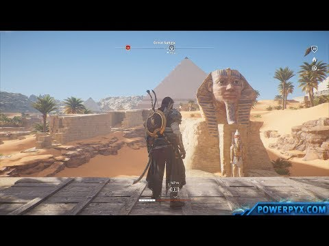 Assassin's Creed Origins - Eesfet Oon-m'Aa Poo Tomb Walkthro