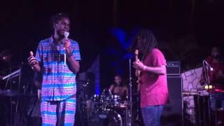 Tenement Yard (News Carryin' Dread) - Chronixx at Rockhouse, Negril - March 11, 2015