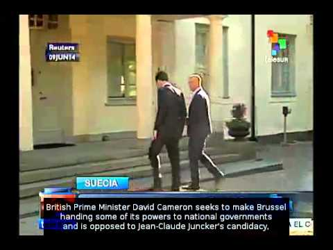 Cameron rejects Juncker's candidacy for President of EU Parliament