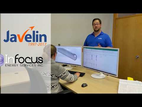 Javelin and InFocus Energy at the Global Petroleum Show