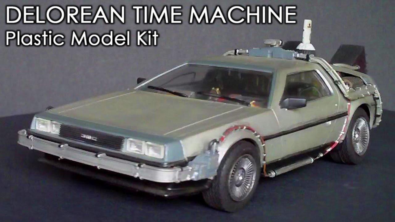 delorean time machine model kit