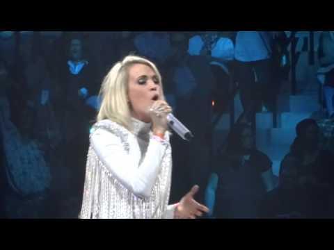 Carrie Underwood - Jesus Take The Wheel 1-30-16 Storyteller Tour Jacksonville, FL