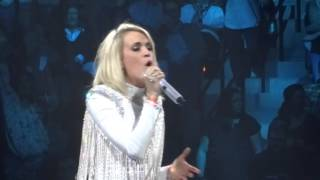 Carrie Underwood - Jesus Take The Wheel 1-30-16 Storyteller Tour Jacksonville, FL