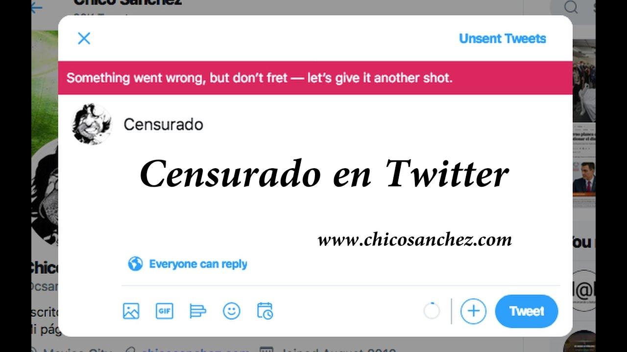 Censurado en Twitter - La Dictadura científica.