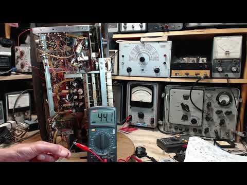 Nordmende Turandot Video#9 - FM Detector Capacitor