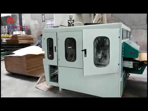 single & double side scarf sanding machine of core veneer