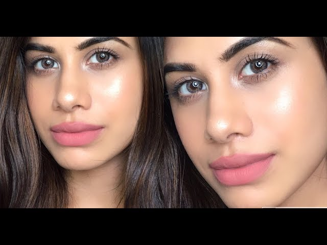 NO MAKEUP MAKEUP LOOK | NO Foundation - Glowing skin | Malvika Sitlani