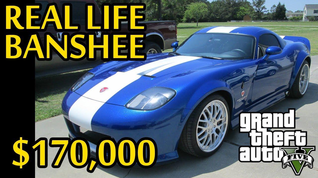 Real Life Banshee For Sale! $170,000 (GTA V