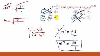 هام جداً حل وشرح تجميعات بصمة فرح فيزياء ج1