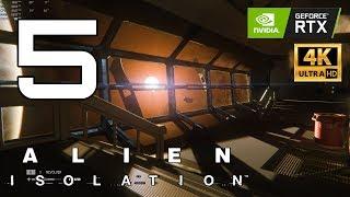 Alien: Isolation Enhanced Part 5 - Ultra Settings 4K | RTX 2080 Ti