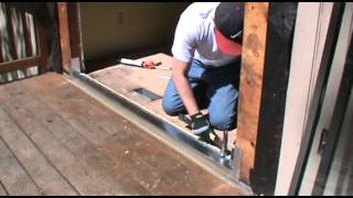 How To Install A Sliding Glass Door With Oglesby Construction