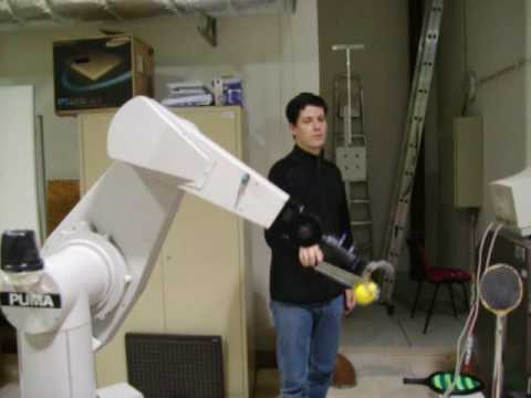 Robotic Arm - Stereo Vision Tracking Demo