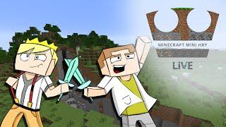 Jirka a GEJMR Hraje - Minecraft Mini hry - Annihilation - LIVE