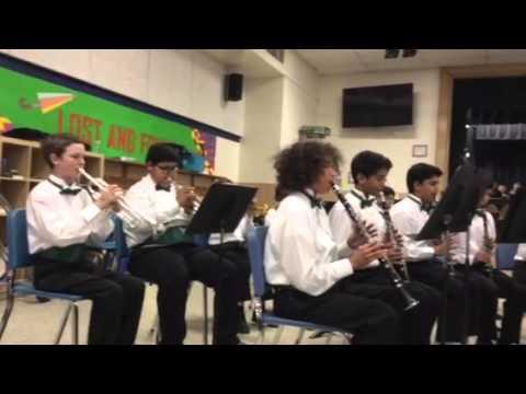 Mark Twain Middle School Band, Alexandria. VA
