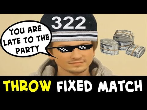 Biggest THROW scandal since 322 Solo — FIXED match Team DX vs YeS!