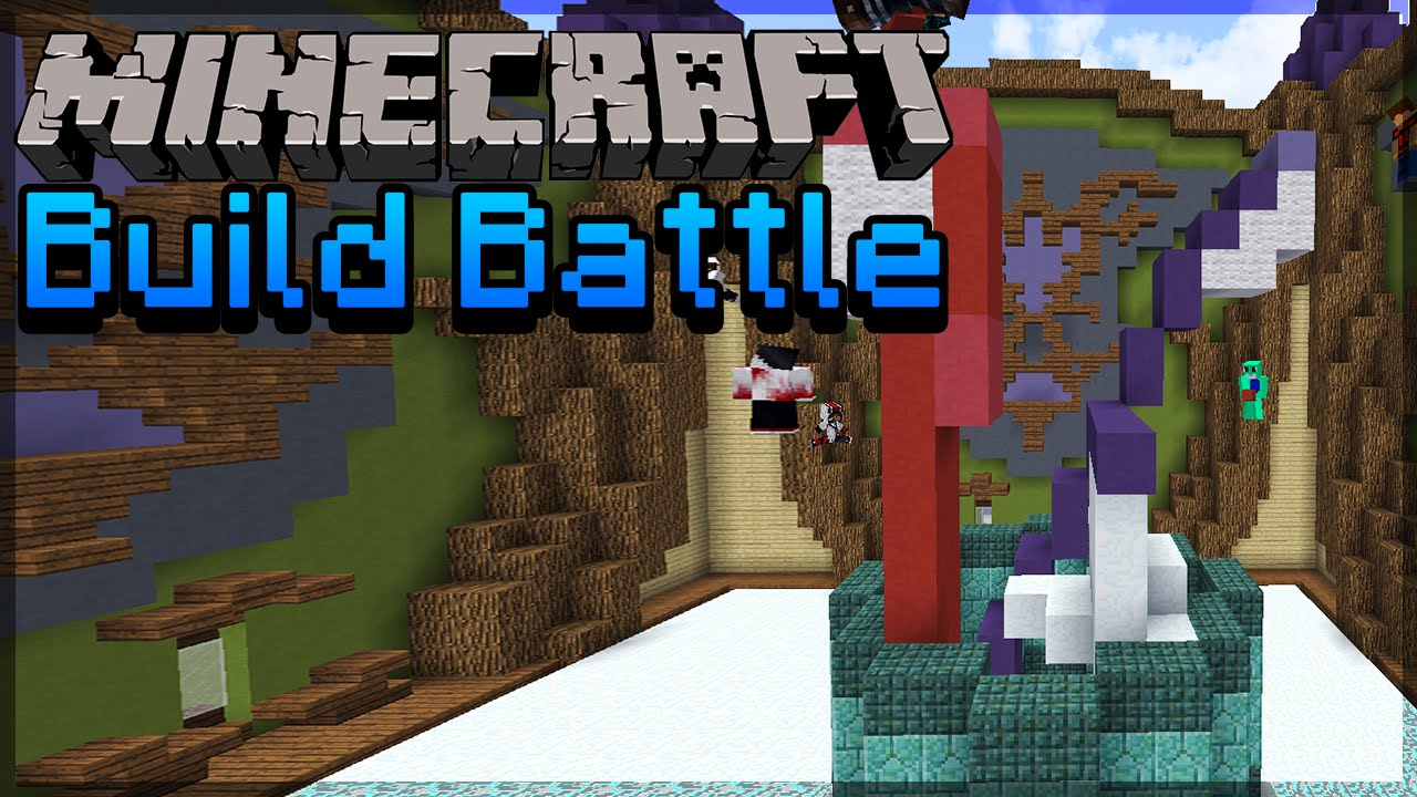 Minecraft Toothbrush Build Battle
