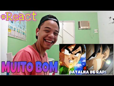 (React)Tio Gohan YT Vs Tio Black (BATALHA DE RAP #01)