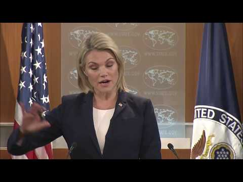 LATEST: Heather Nauert Department Press Briefing on President Donald Trump News, October 4, 2017
