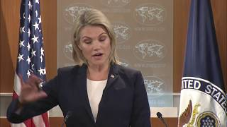 LATEST: Heather Nauert Department Press Briefing on President Donald Trump News, October 4, 2017 2017 Video