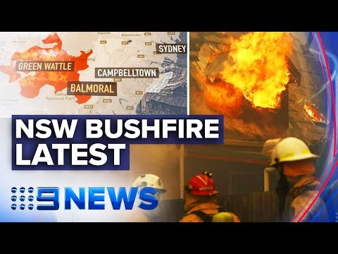 Towns Wiped Out As Brutal Bushfires Ravage NSW | Nine News Australia