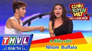 THVL   Cười xuyên Việt - Tiếu lâm hội   Tập 3: Bốn điều ước - Nhóm Buffalo