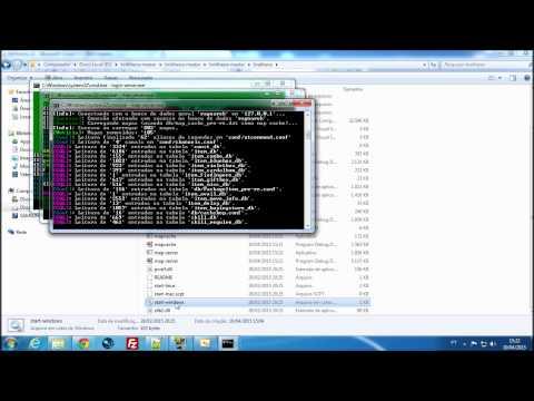 Baixando e Configurando emulador brAthena e Client.