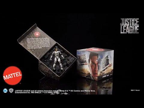 Mattel Justice League San Diego Comic Con Cyborg Origin | Mattel