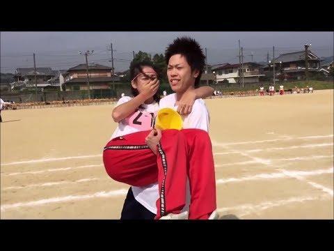 【感動】体育祭でサプライズキス!!高校生カップルの恋愛事情